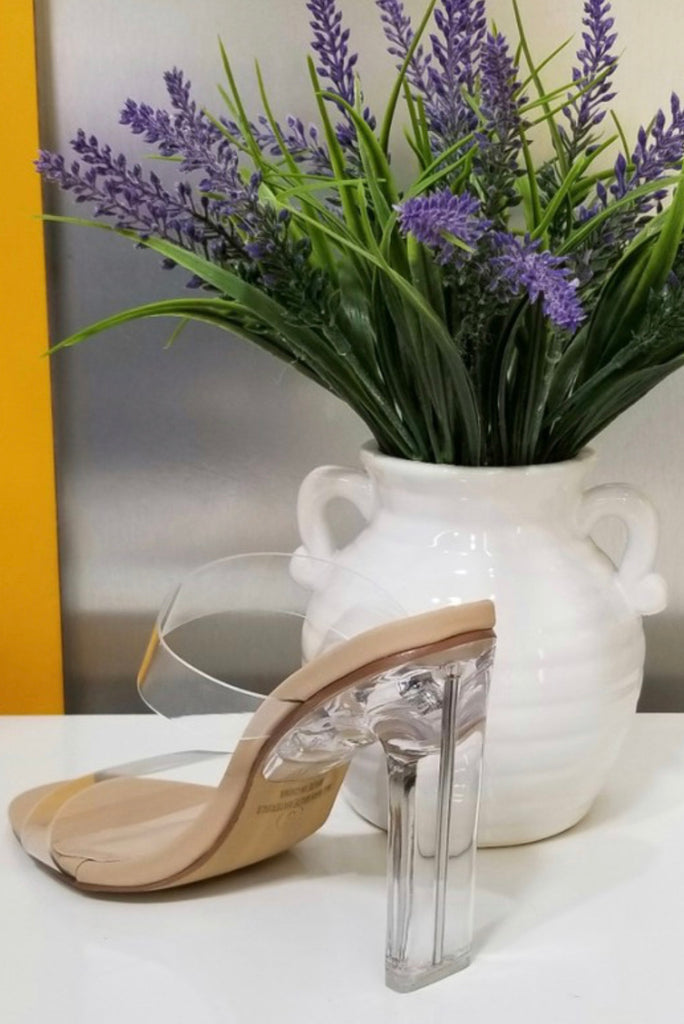 Chelsea's Nude Heel - Mint Leafe Boutique