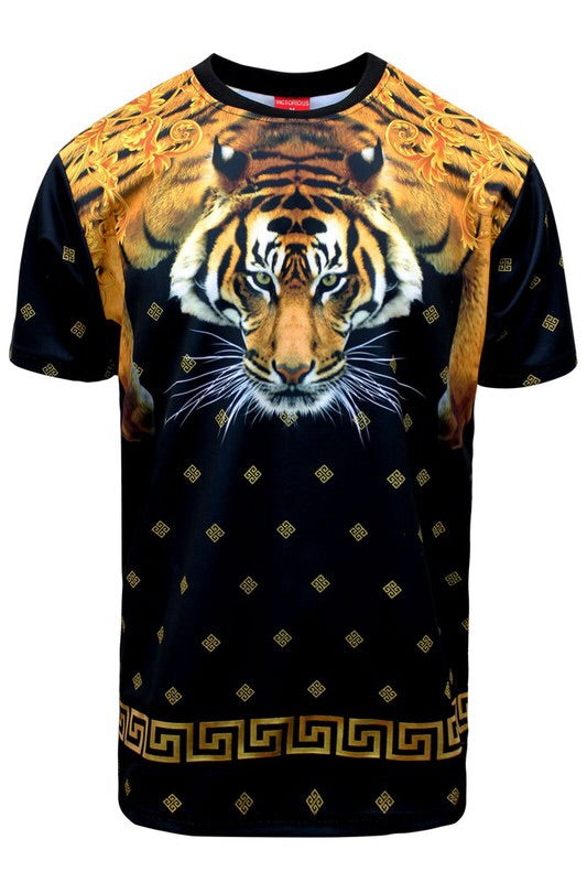 Tiger Leo T-Shirt - Mint Leafe Boutique