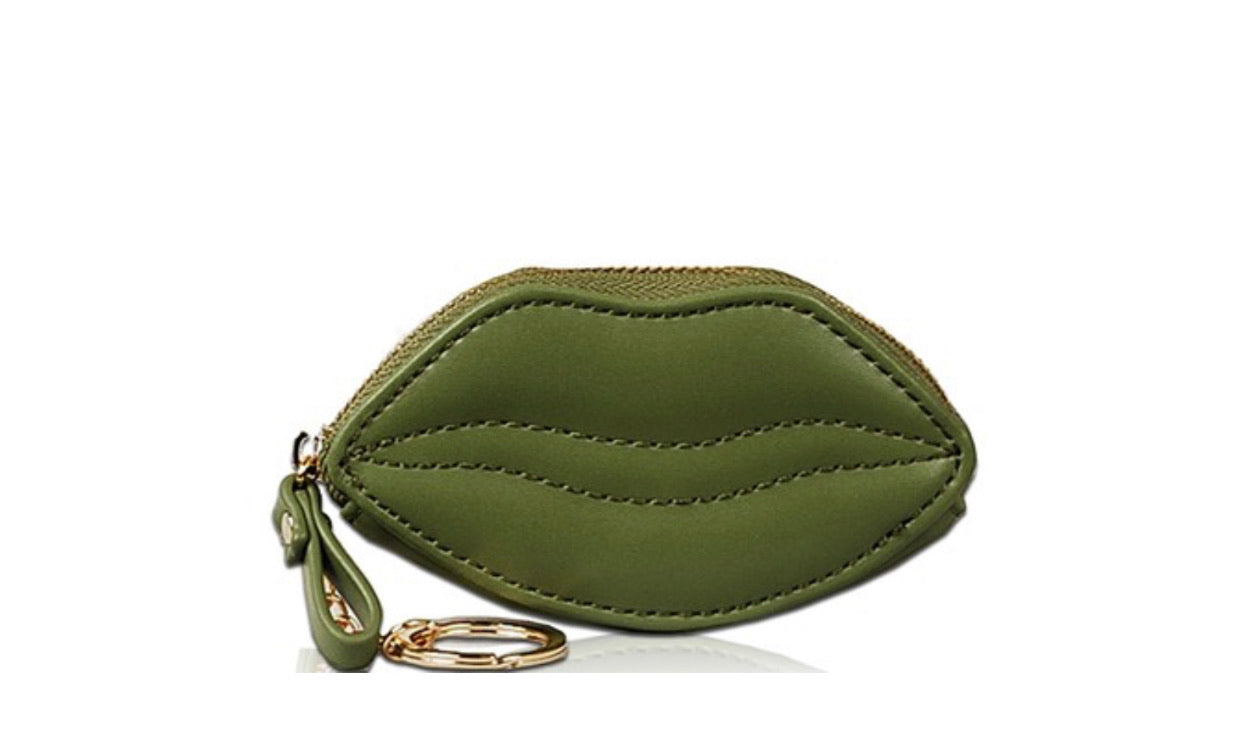 Mini Lip Coin Wallets - Mint Leafe Boutique