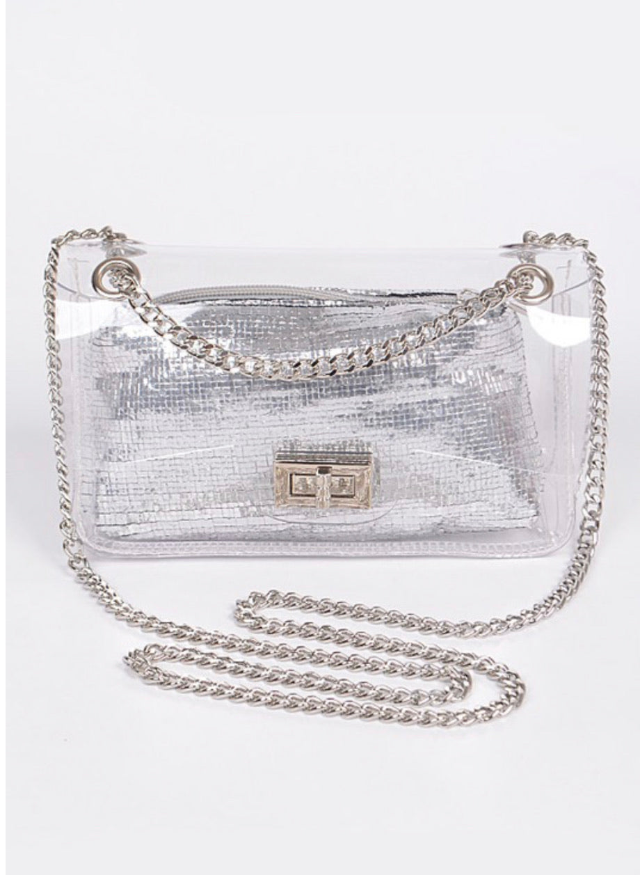 MY FAV CLEAR BAG - Mint Leafe Boutique