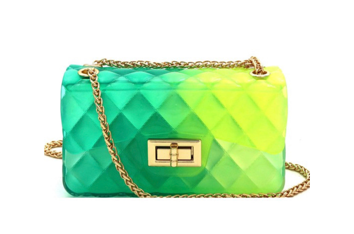 Mini Shoulder Jelly Handbags - Mint Leafe Boutique