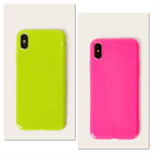 Hot Neon Color iPhone Case - Mint Leafe Boutique