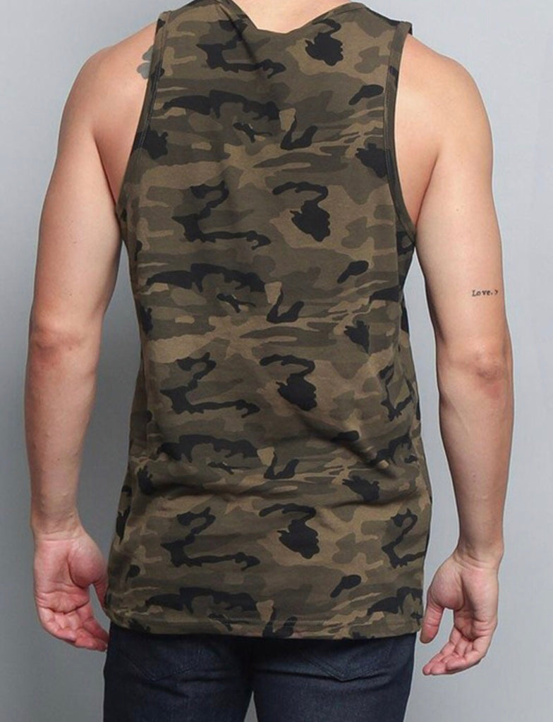 """Chill"" Men's Tank - Mint Leafe Boutique"
