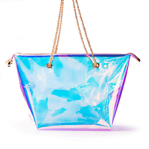 "The ""Zipper Everythang""  Prism Tote - Mint Leafe Boutique"