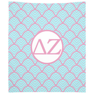 Delta Zeta - Woven Tapestry - Custom Shell Design
