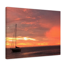 Caribbean Sunset VI Canvas Gallery Wrap