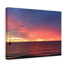 Caribbean Sunset III Canvas Gallery Wrap
