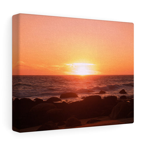 Rhode Island Sunset I Canvas Gallery Wrap