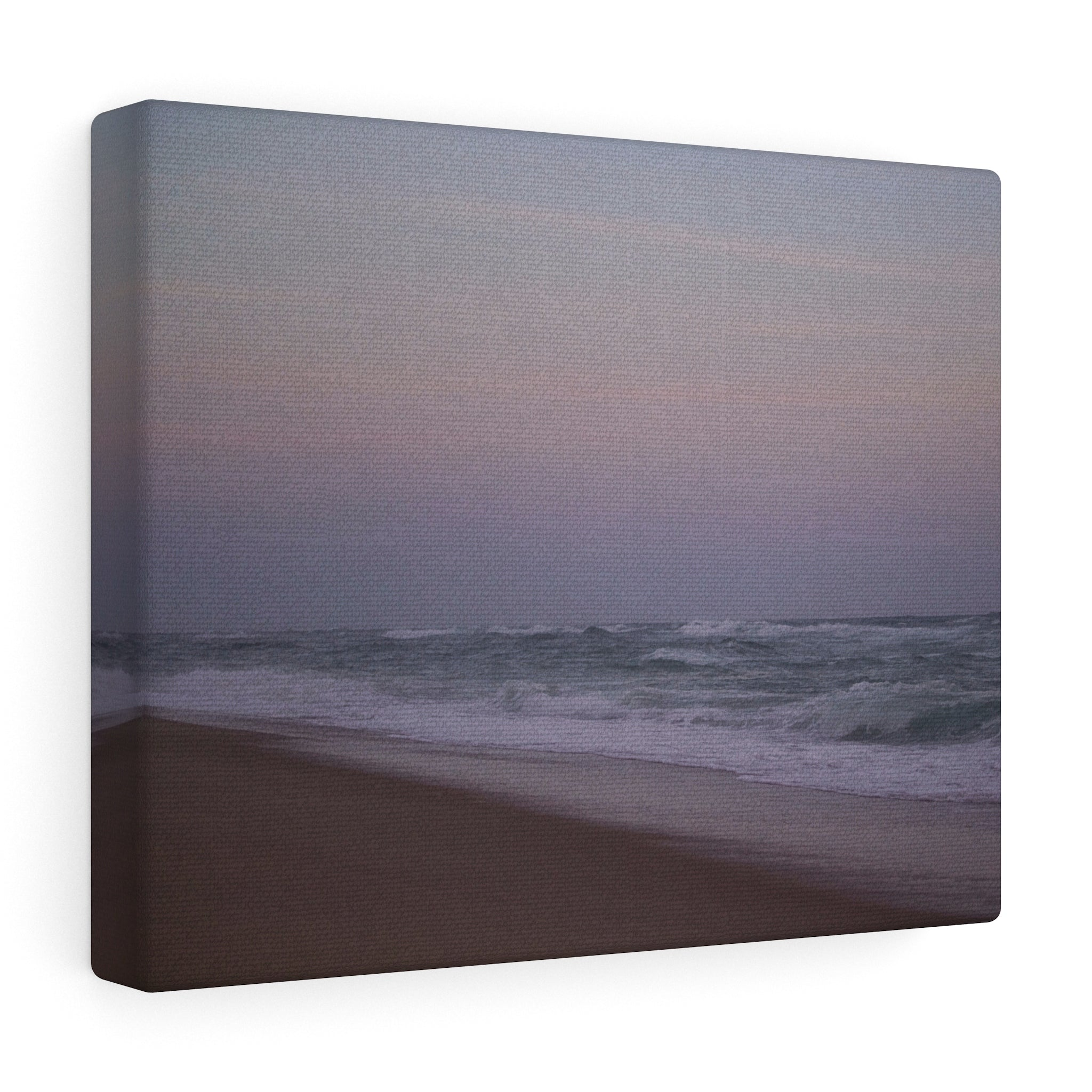 The Misty Shore Canvas Gallery Wrap