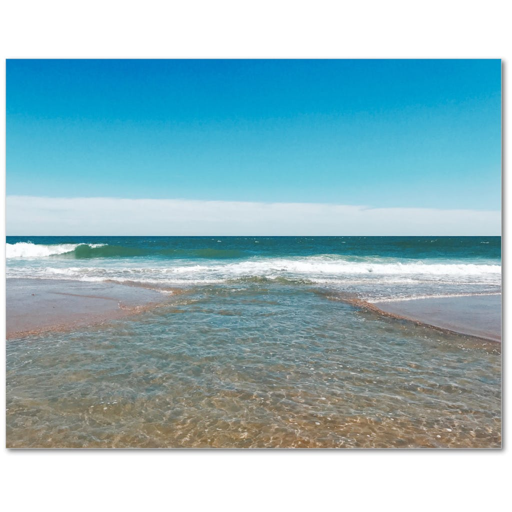Intersecting Waves Giclée Print