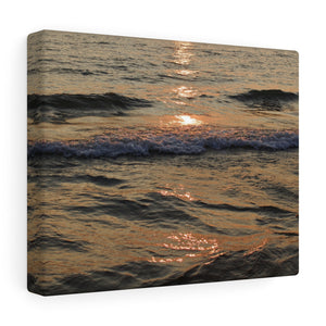 Sunset Reflects Upon Waves