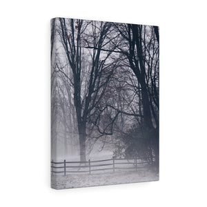 Fog Covered Field I Canvas Gallery Wrap