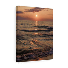 Great Lake Sunset IV Canvas Gallery Wrap
