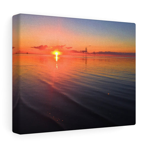Cape Cod Bay Sunset I Canvas Gallery Wrap