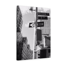 Fashion Avenue Monochrome Canvas Gallery Wrap