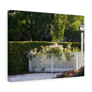 The Nantucket Yard Canvas Gallery Wrap