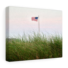 Nantucket Stars and Stripes II Canvas Gallery Wrap