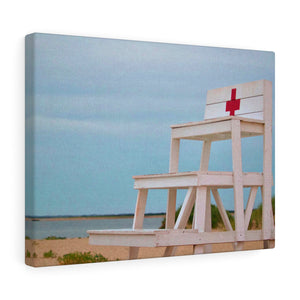 Nantucket Lifeguard Canvas Gallery Wrap