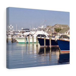 Old South Wharf Canvas Gallery Wrap