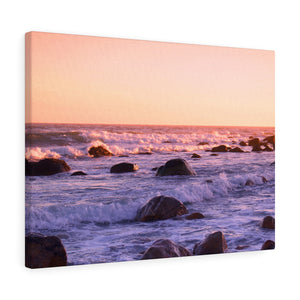 Rhode Island Rocky Waters IV Canvas Gallery Wrap