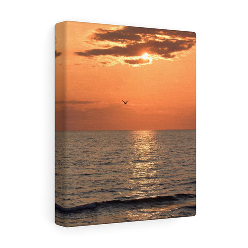 Great Lake Sunset III Canvas Gallery Wrap
