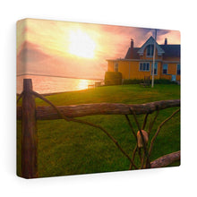 Watch Hill Sunset Canvas Gallery Wrap