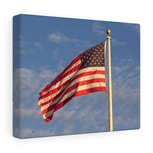 Nantucket Stars and Stripes III Canvas Gallery Wrap