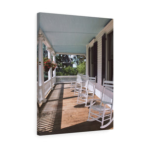 Lounsbury Porch Canvas Gallery Wrap