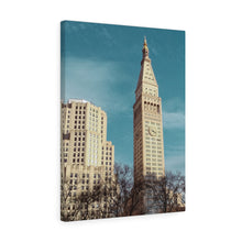 Metropolitan Life Clock Tower Canvas Gallery Wrap