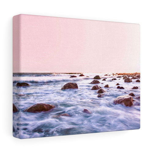 Rhode Island Rocky Waters I Canvas Gallery Wrap
