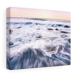 Rhode Island Rocky Waters II Canvas Gallery Wrap