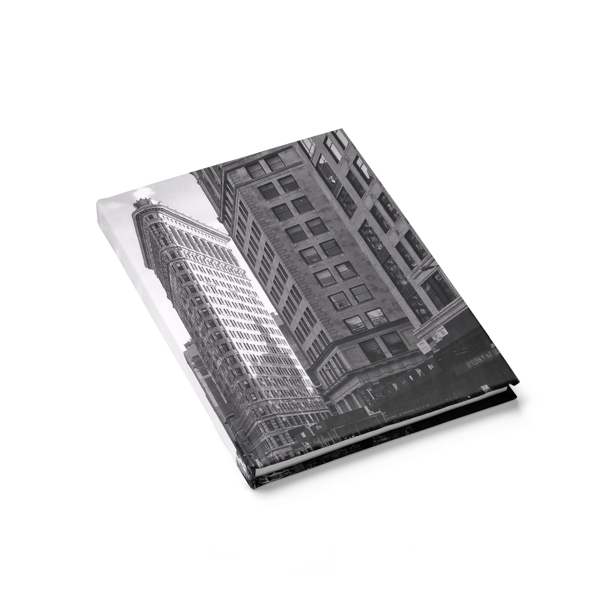 Flatiron Building Monochrome Notebook