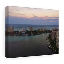27th Floor Sunset I Canvas Gallery Wrap