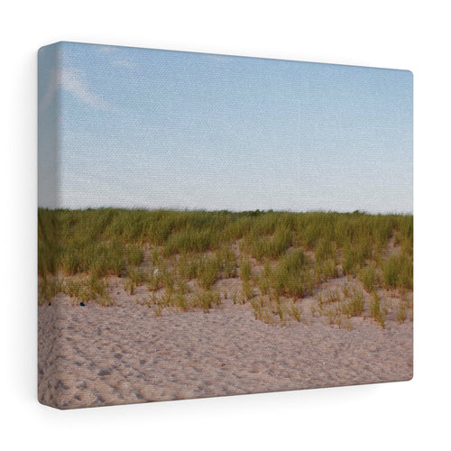 Sky, Seagrass, & Sand Canvas Gallery Wrap