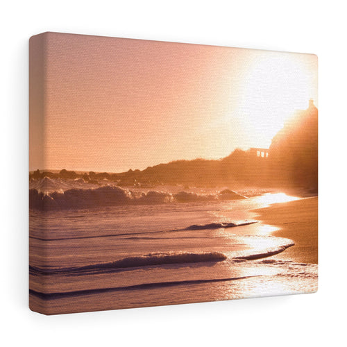 Serene Shoreline II Canvas Gallery Wrap