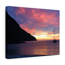 Caribbean Sunset I Canvas Gallery Wrap