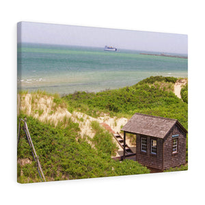Le Shack Canvas Gallery Wrap
