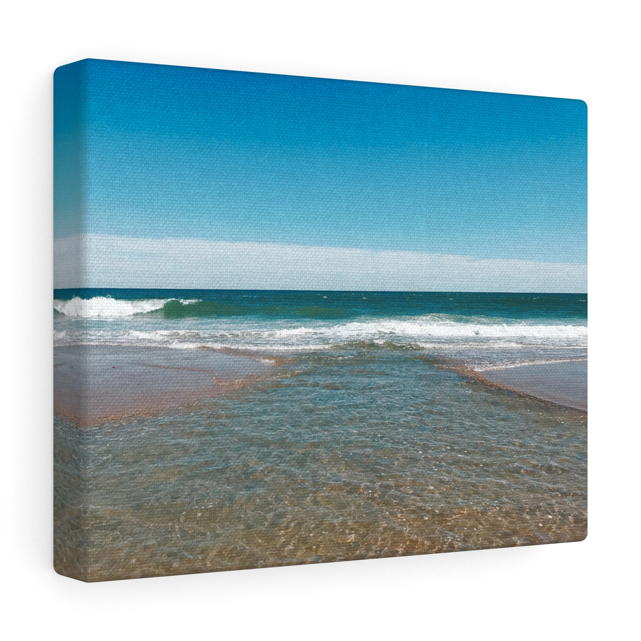 Intersecting Waves Canvas Gallery Wrap