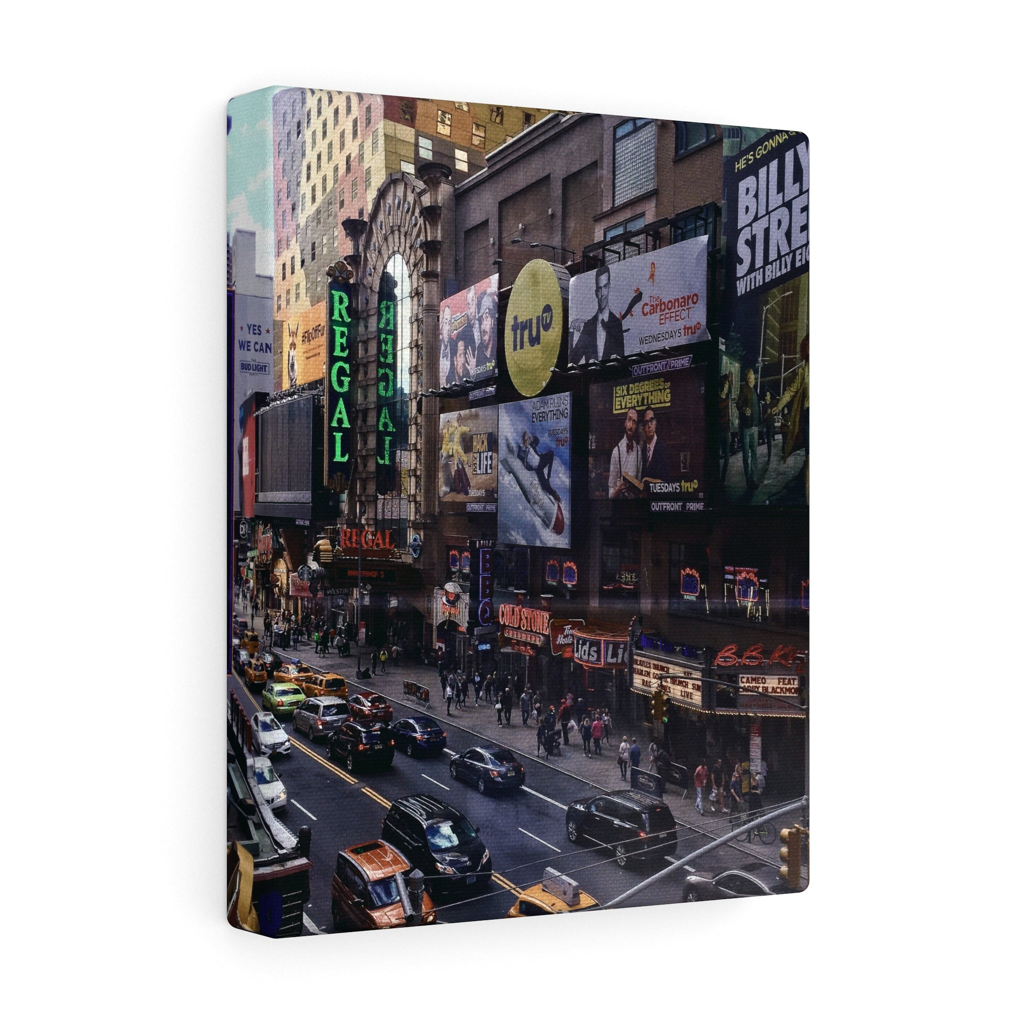 Times Square Canvas Gallery Wrap