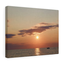 Great Lake Sunset II Canvas Gallery Wrap