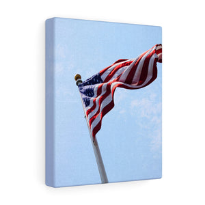 Nantucket Stars and Stripes I Canvas Gallery Wrap