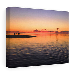 Cape Cod Bay Sunset II Canvas Gallery Wrap