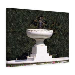 The Fountain Canvas Gallery Wrap