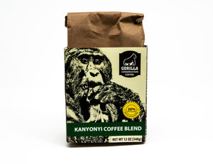 Gorilla Conservation Coffee 12 Ounce