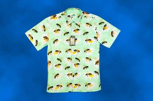 Honeybee Hawaiian Style Shirt