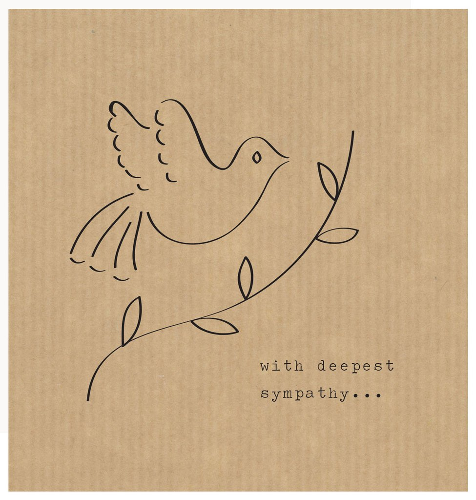 With Deepest Sympathy - Card