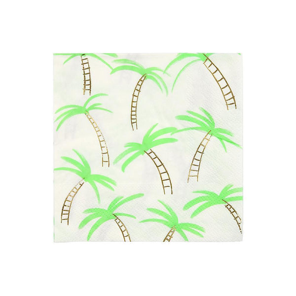 Palm Trees Napkins / Small