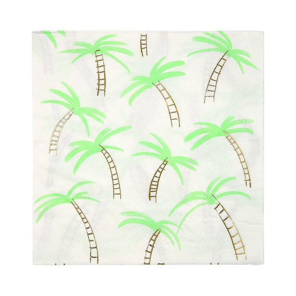 Palm Trees Napkins / Large