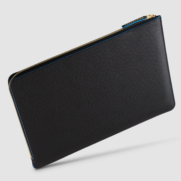 "Tablet Case / 10"" - 12""/ Black Blue"