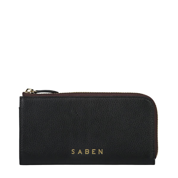 Zoey Wallet in Black